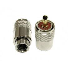 Разъём UHF (PL259) для кабеля RG-213